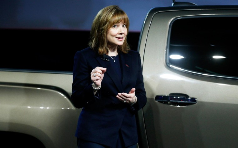Image: Mary Barra of General Motors Co.