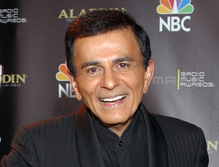 Image: Casey Kasem after receiving the Radio Icon award during The 2003 Radio Music Awards