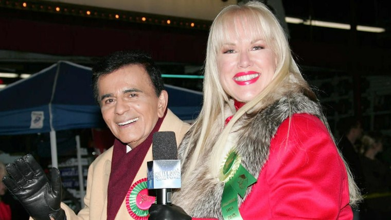 Casey Kasem with his wife Jean in 2007