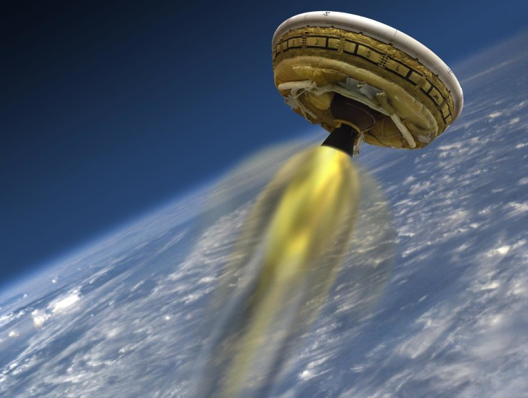 Image: Saucer rocket