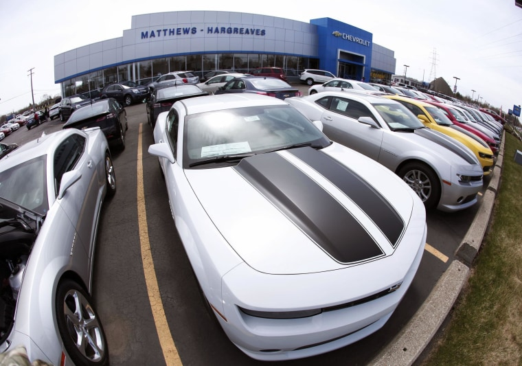 Car buyers were out in droves in May pushing up sales for major manufacturers.