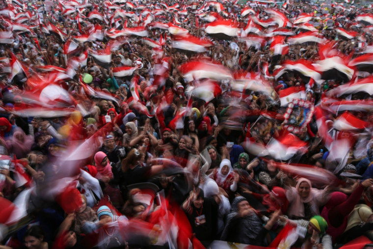 Image: EGYPT-VOTE-RESULTS