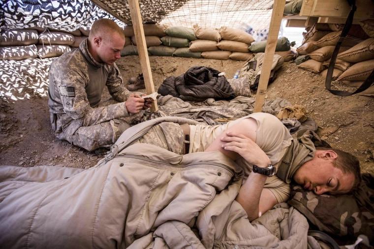 Image: Bowe Bergdahl in Afghanistan