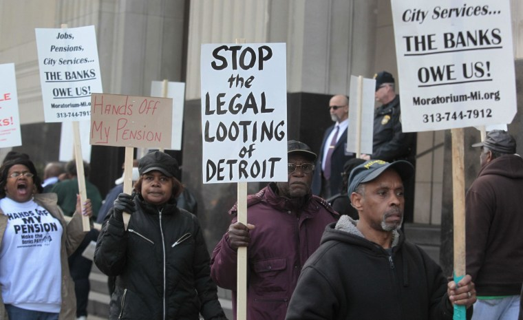 Michigan Senate Approves $195M for Detroit Bankruptcy