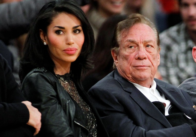 Image: Donald Sterling and V. Stiviano