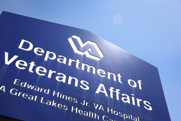HINES, IL - MAY 30:  A sign marks the entrance to the Edward Hines Jr. VA Hospital on May 30, 2014 in Hines, Illinois. Hines,  which is located in suburban Chicago, has been linked to allegations that administrators kept secret waiting lists at Veterans Administration hospitals so hospital executives could collect bonuses linked to meeting standards for rapid treatment. Today, as the scandal continued to grow, Veterans Affairs Secretary Eric Shinseki apologized in public and then resigned from his post.  (Photo by Scott Olson/Getty Images)