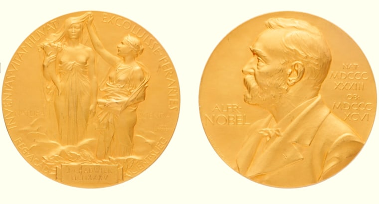 Image: 1935 Nobel Prize Medal that was presented to James Chadwick