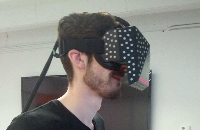 Image: Valve's Dota 2 virtual-reality headset