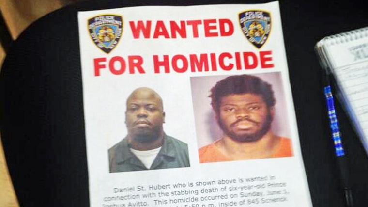 Image: Daniel St. Hubert was arrested in Queens, shortly after police identified him as a suspect in the Brooklyn stabbings