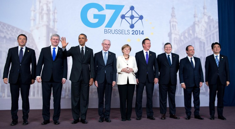 Image: G7 Summit in Brussels