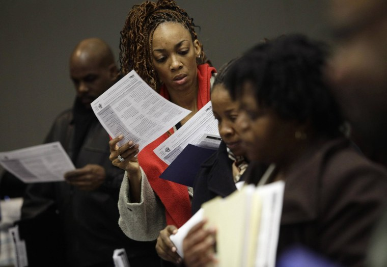 New claims for unemployment benefits rose last week, but the underlying trend points to a firming labor market.