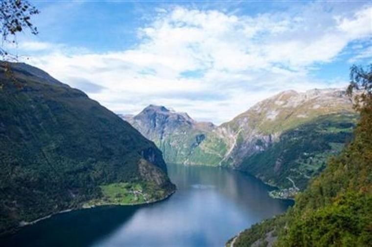 Image: Norway's Geirangerfjord