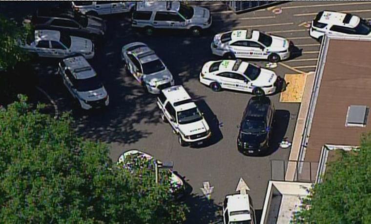 Image: Lockdown at Penn State Abington