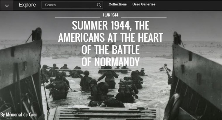 Google Normandy D-Day