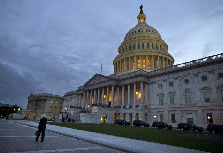 Credit agency S&P says it might restore the perfect AAA rating the United States lost nearly three years ago amid political bickering over the debt ceiling -- if Congress gets its act together.