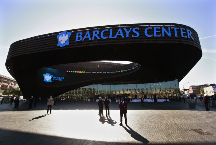 Image: File photo of the Barclays Center in New York