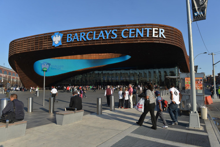 Image: Exterior view of the Barclays Center