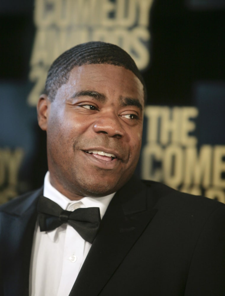 Image: Actor Tracy Morgan arrives at the Comedy Awards in 2012 in New York City,