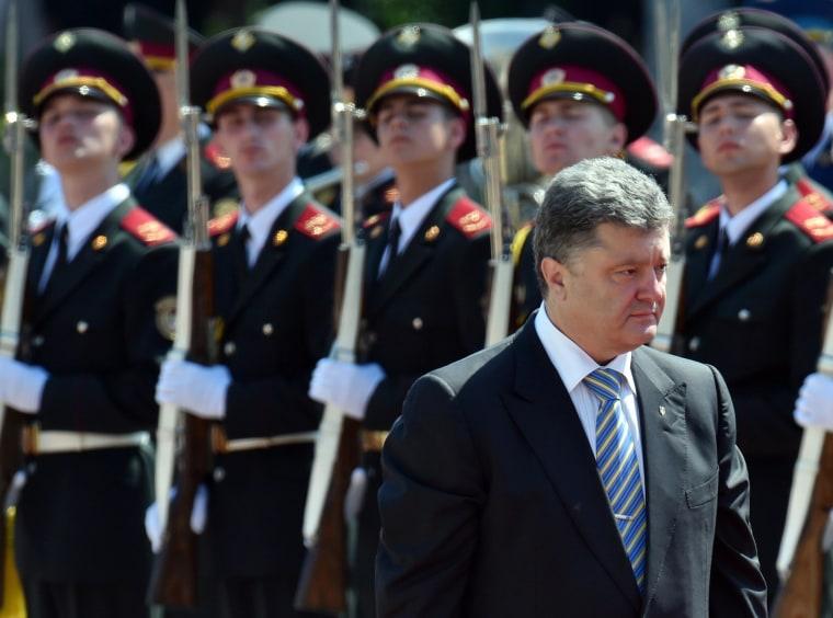 Image: Ukraine's President Petro Poroshenko