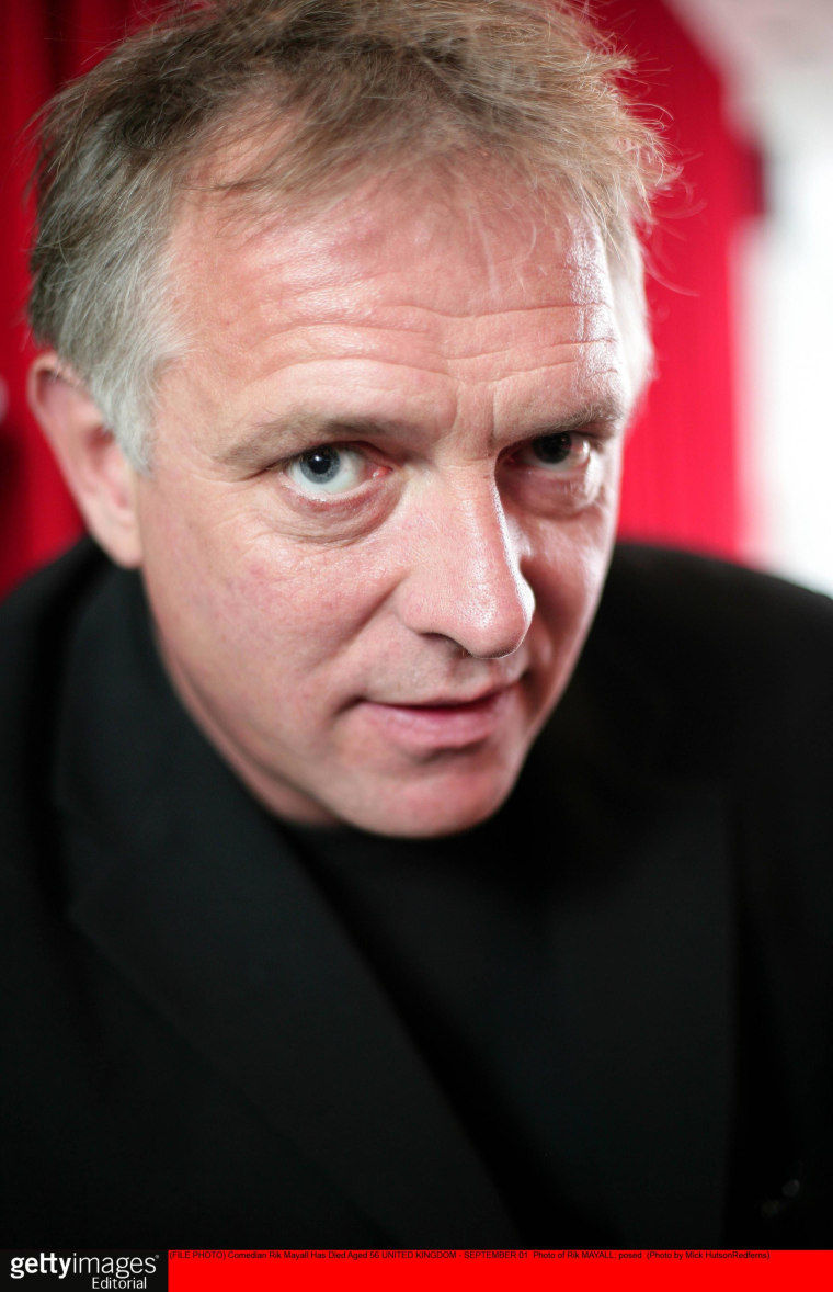 Image: FILE  Comedian Rik Mayall Has Died Aged 56 Photo of Rik MAYALL