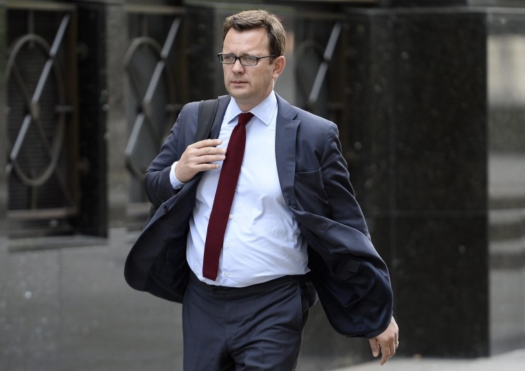 Image: Andy Coulson arrives to the Old Bailey on June 5