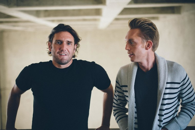Joshua Fields Millburn, right, and Ryan Nicodemus are The Minimalists, writing about living a meaningful life with less stuff.