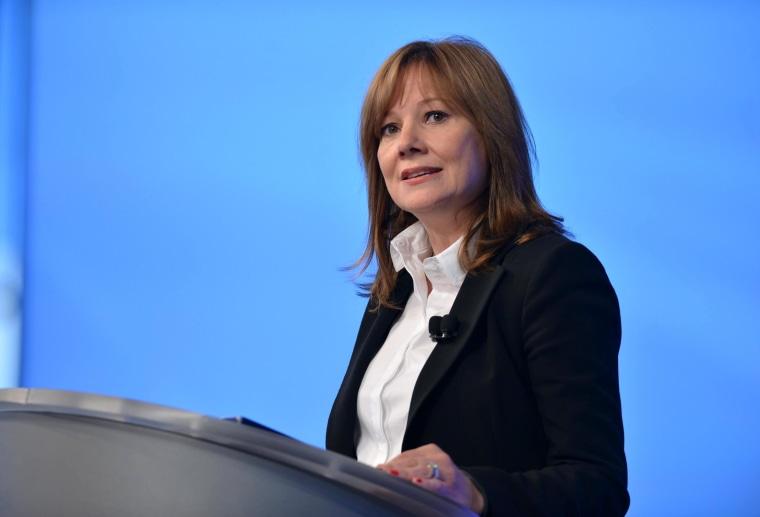 A handout picture provided by General Motors (GM) shows GM CEO Mary Barra provides an update on the ignition switch recall investigation during a employee meeting at the GM Vehicle Engineering Center in Warren, Michigan, 05 June 2014. An internal investigation of a deadly flaw in ignition switches has led GM to fire key employees in the case, but chief executive Mary Barra was cleared of wrongdoing, the carmaker said. In all, 15 employees were fired or left the company over their actions regarding a safety flaw in ignition switches. The problem has been linked to at least 13 deaths, in many cases when the ignition switch failure kept airbags from deploying in collisions. The switch was present in about 2.6 million smaller cars produced during the last decade, most prominently the Chevrolet Cobalt.