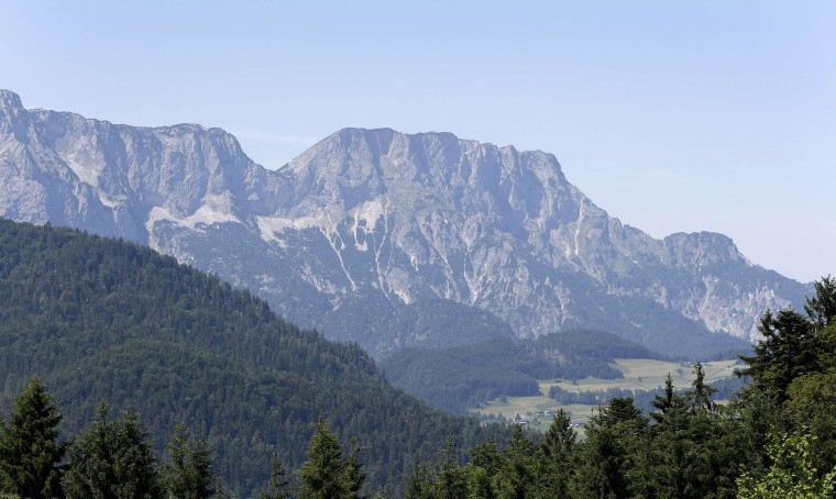 Image: The Berchtesgadener Alp mountain 'Untersberg