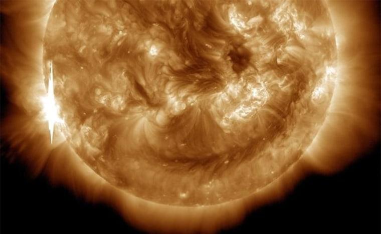 Image: X1.5-class flare