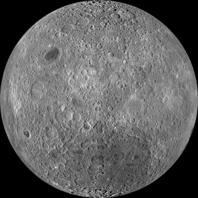 Image: Lunar far side