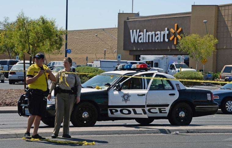 Image: Five Dead, Including 2 Police Officers In Las Vegas Shooting