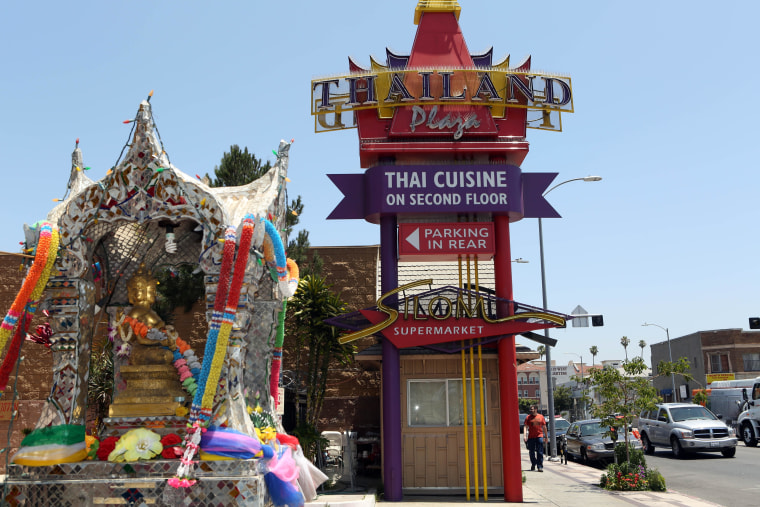 Thai Town photographed in Los Angeles, June 5, 2014.