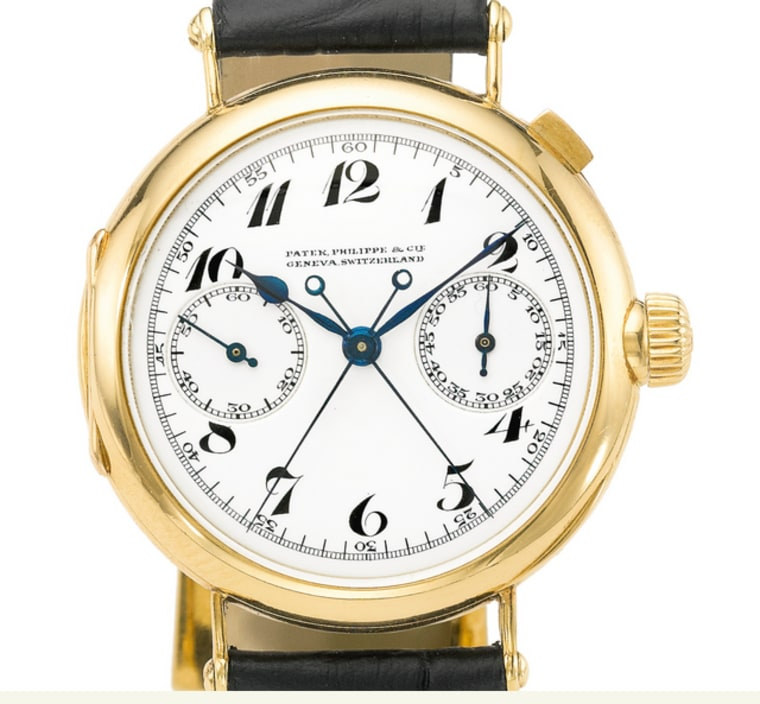 1923 Patek Philippe split-seconds chronograph