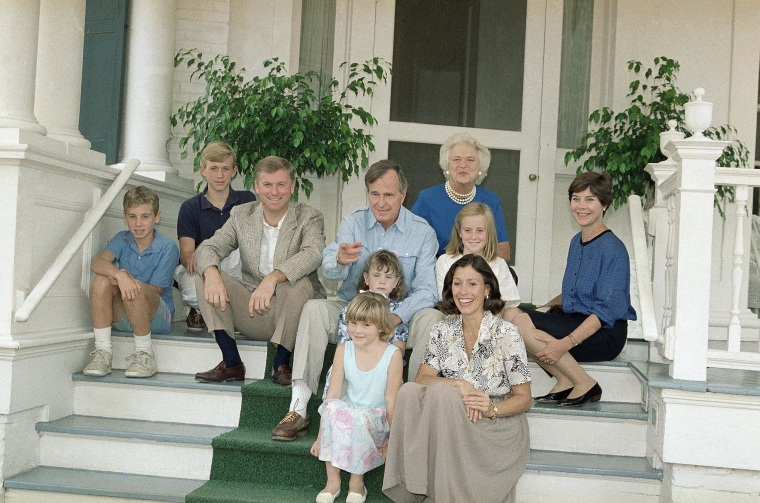 Image: George H. W. Bush in 1988