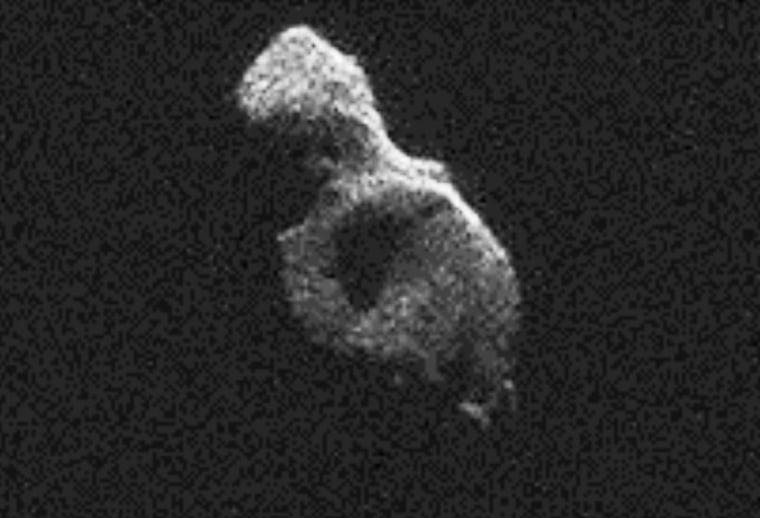 Image: Beast asteroid