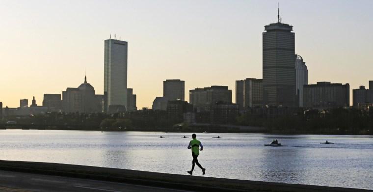 Image: The Boston skyline