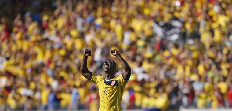 Image: Colombia's Cristian Zapata