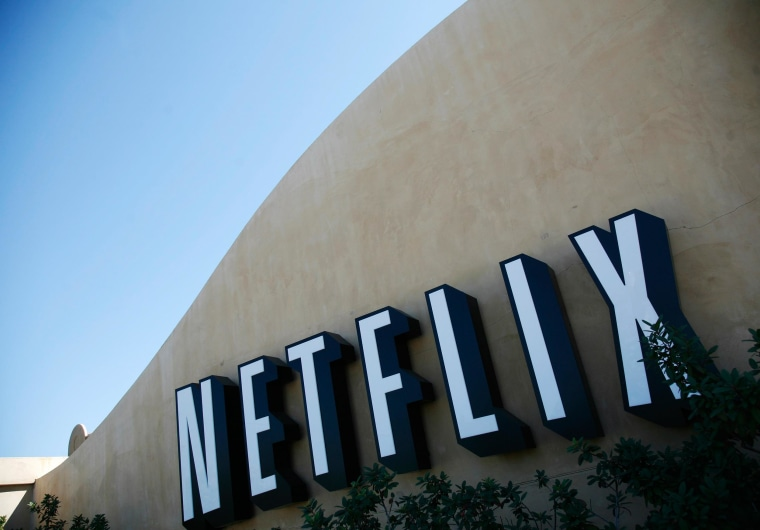 The headquarters of Netflix is shown in Los Gatos, Calif.