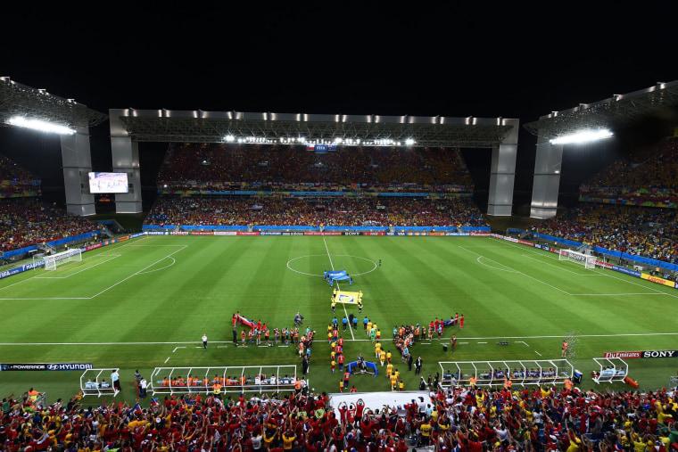 Image: Chile v Australia: Group B - 2014 FIFA World Cup Brazil