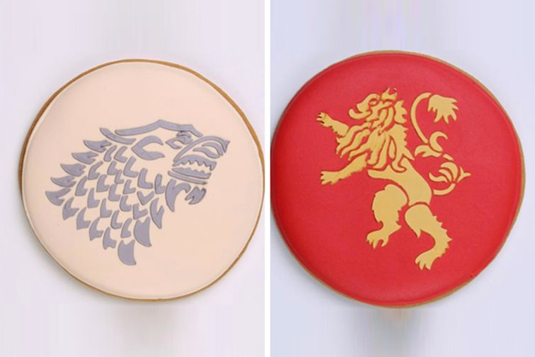 """HBO partnered with Eleni's Bakery retail locations to sell """"Throne"""" cookies through Elenis.com and HBO's online store."""
