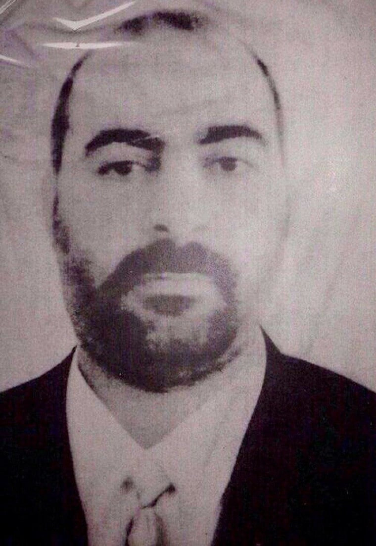 Image: Purportedly a photo of Abu Bakr al-Baghdadi