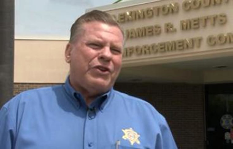 Image:Lexington County Sheriff James R. Metts