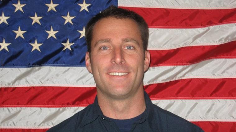 Image: Arcadia firefighter Mike Herdman