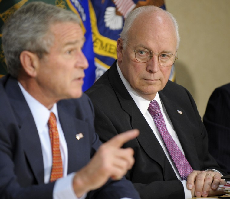 Image: George W. Bush, Dick Cheney