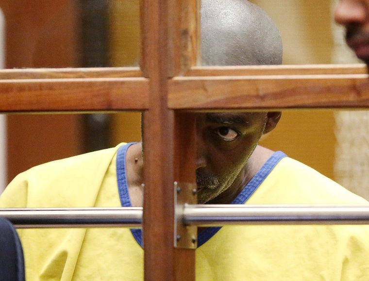 Image: Actor Michael Jace appears in court for an arraignment hearing in Los Angeles