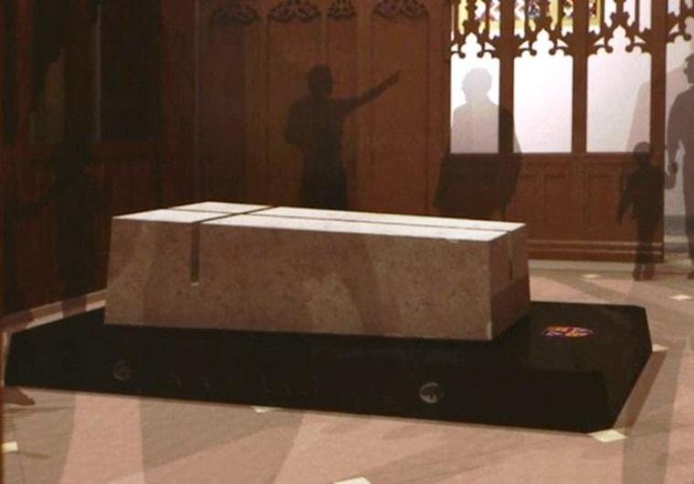 Image: Richard III's tomb