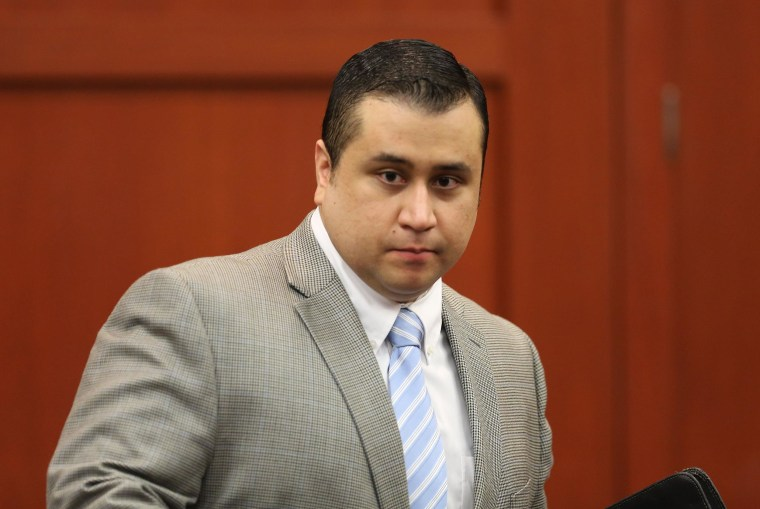 George Zimmerman in court in July 2013, in Sanford, Fla.