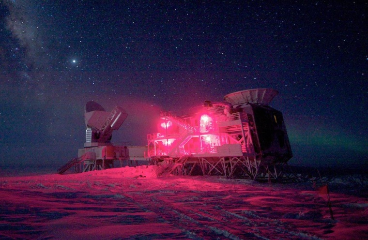 Image: South Pole experiment
