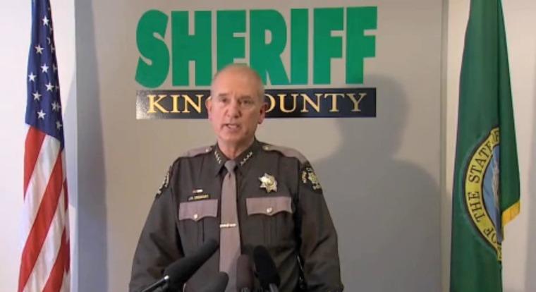 Image: King County Sheriff John Urquhart