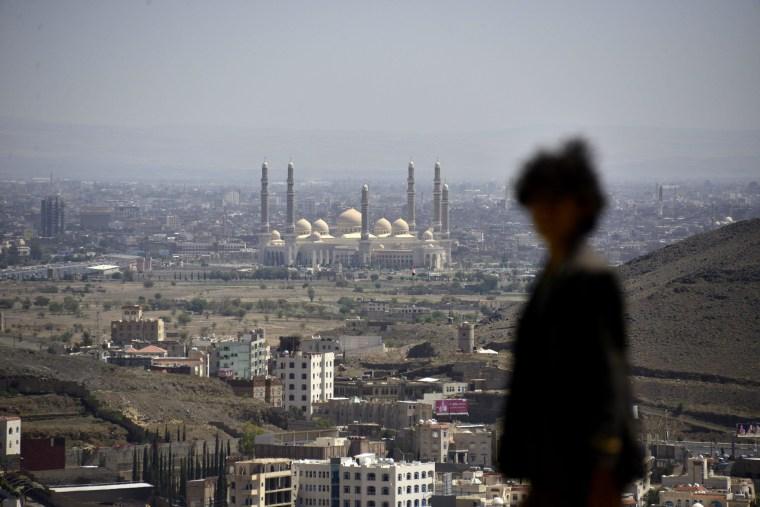 Image: Security concerns in Yemen